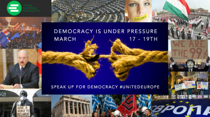 Speak up for democracy!